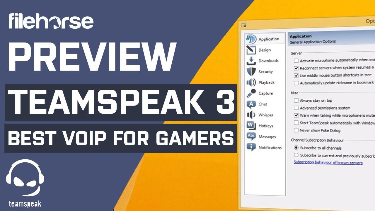 TeamSpeak Client (32-bit) Download (2019 Latest) for Windows