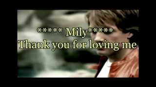 Bon Jovi - Thank You For Loving Me Subtitulado Español Ingles