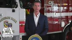 Newsom on wildfire prevention efforts during coronavirus crisis