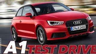 2015 NEW Audi A1   TEST Drive