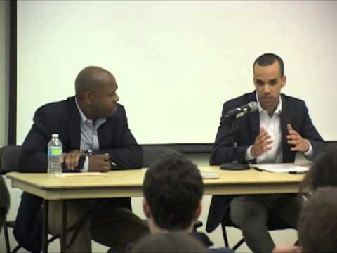"""""""Are Liberals Making It Harder for African Americans to Succeed?"""" Jason Riley vs. Michael Jeffries"""