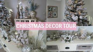 Christmas Decor Tour 2017 | Winter Home Tour | Erica Lee