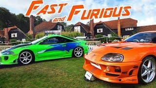 ATTENDING A FAST & FURIOUS CAR SHOW!