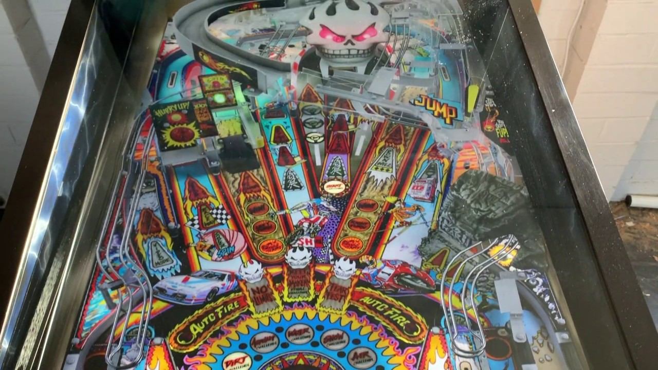 Back to the Future 4K Virtual Pinball Machine