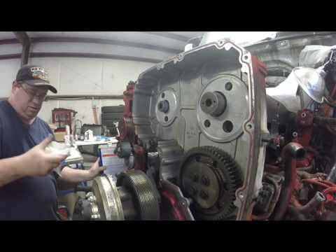 ISX Engine re build PT49 face gears by Rawze - YouTube