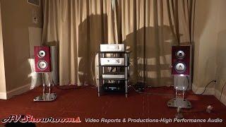 Constellation Audio, Argo integrated amp, Cygnus Media player, Von Schweikert, THE Show