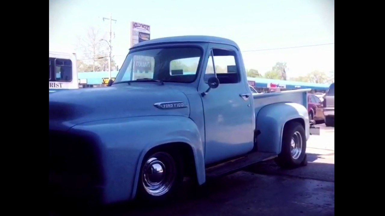 53 Ford F100 Mustang Ii Front Suspension Conversion Youtube 1955