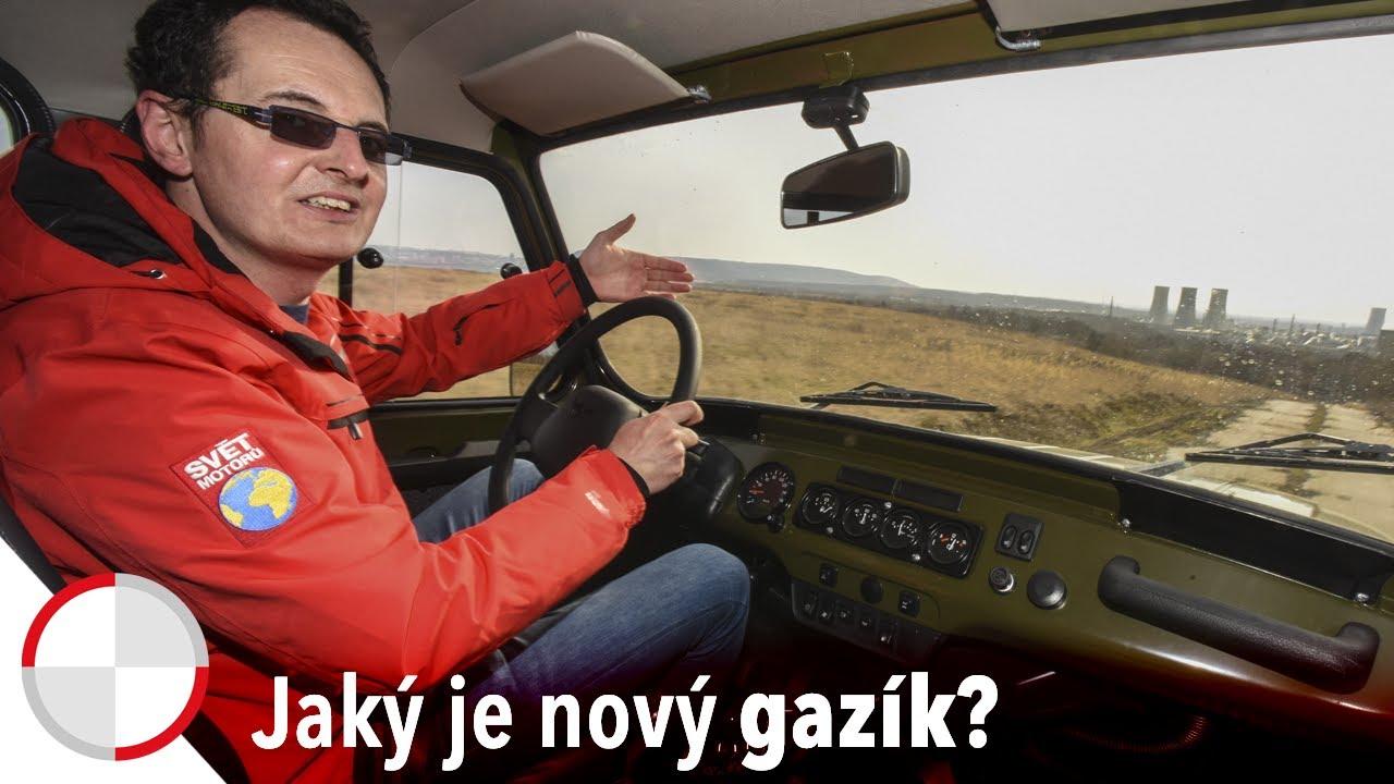 Martin Vaculík otestoval legendární gazík! Jak se UAZ Hunter předvedl v terénu?