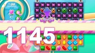 Candy Crush Soda Saga Level 1145 (3 stars, No boosters)
