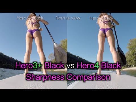 Hero4 Black vs Hero3+ Black Sharpness Comparison - GoPro Tip #386