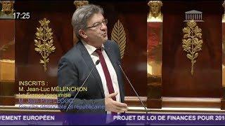 EUROPE : «NOUS AVONS UN PLAN B» - Mélenchon