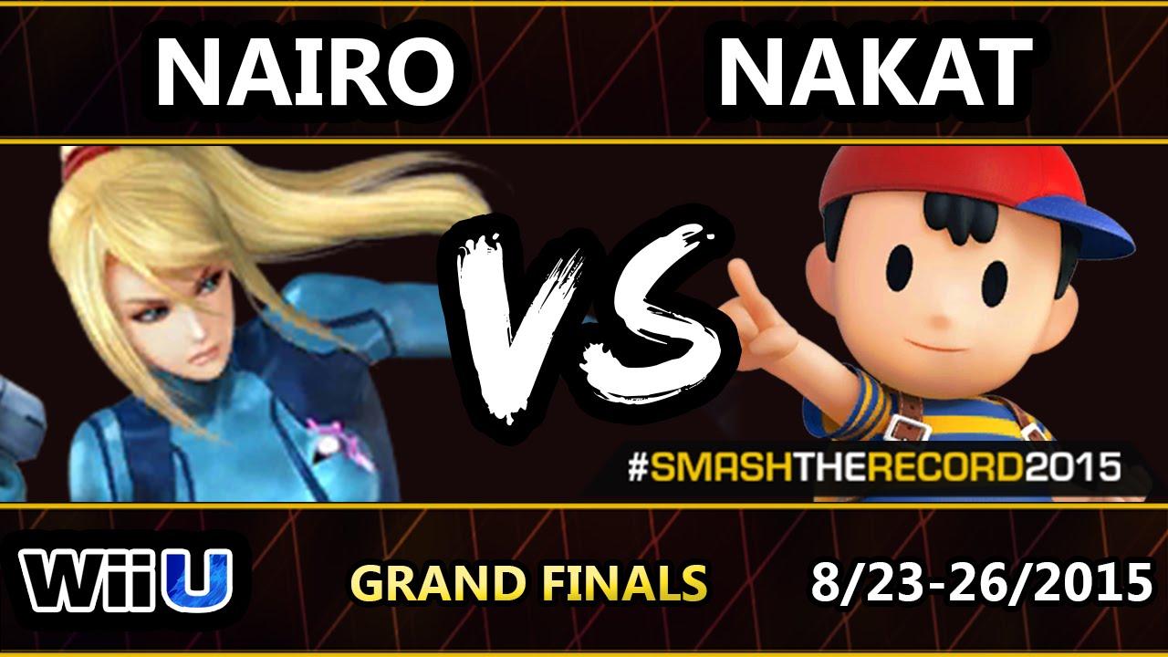 STR2015 - CLG | Nakat (Ness, Pikachu, Lucas) Vs. Liquid Nairo (ZSS) SSB4 GF - Smash Wii U - Smash 4