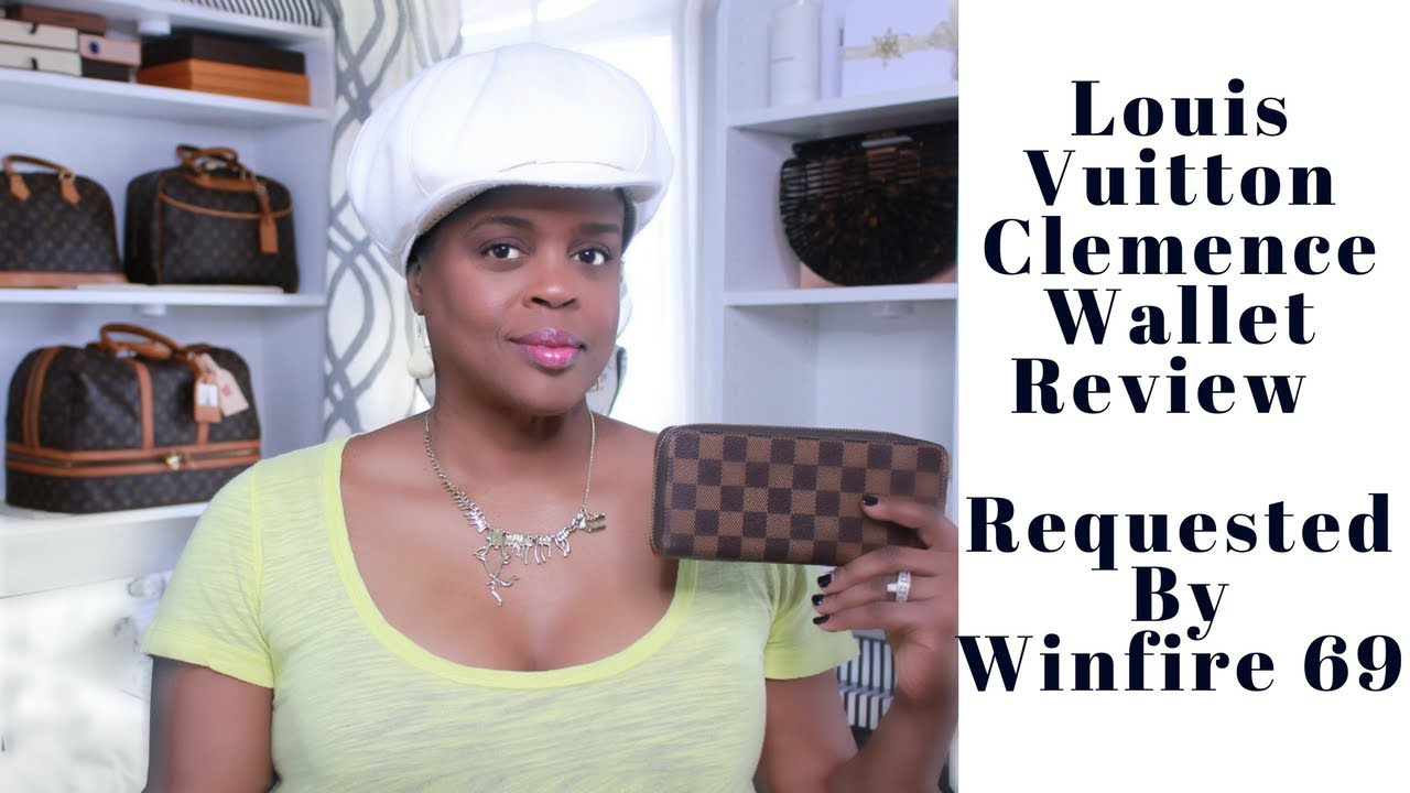 Louis Vuitton Clemence Wallet Review   Requested by Winfire 69