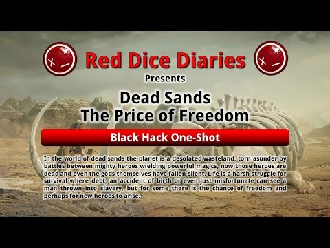 Desert Sands: Black Hack Oneshot