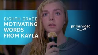 Eighth Grade: All of Kayla's Vlogs | Prime Video