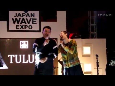 TULUS & HIROAKI KATO - Kutsu (Japan Wave Expo)
