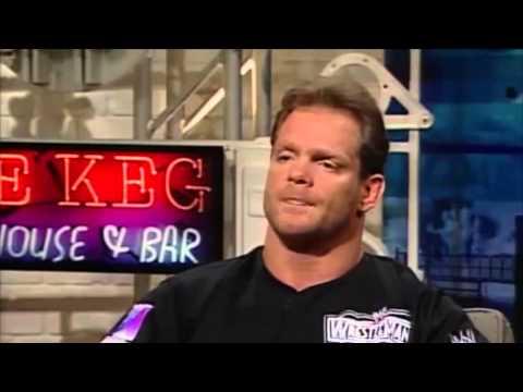 Chris Benoit shoots on Hulk Hogan