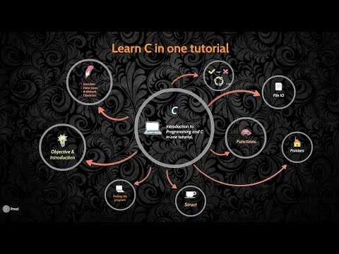 Learn C programming in one Tutorial (in Bengali (বাংলা))