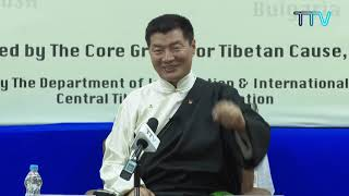 Open Forum with Sikyong Dr. Lobang Sangay