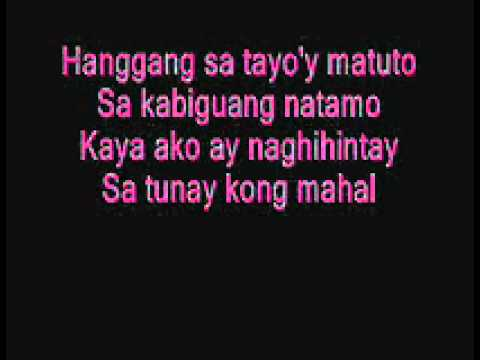 Magmahal Muli with lyrics by Sam & Say