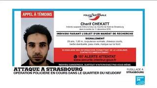 Attentat de Strasbourg : une troisième victime décédée, la traque continue