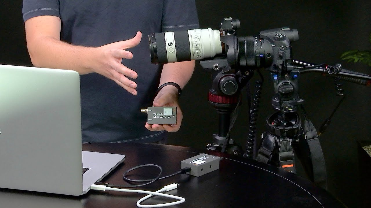 Using Two Ultrastudio Mini Recorders With Wirecast Dual Camera Live Streaming Youtube