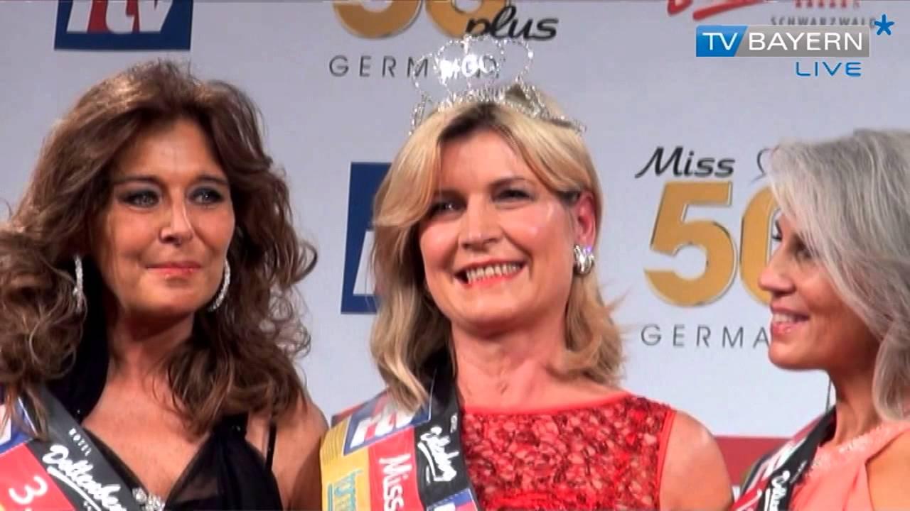 Miss Germany 50plus - TV BAYERN LIVE* am 01.12.13 - YouTube