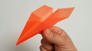 Cum sa faci un avion de hartie flying bird