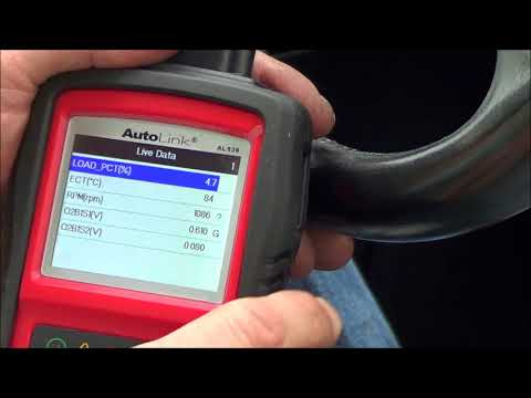Autel AutoLink AL-539 OBD-II scanner multimeter code reader review