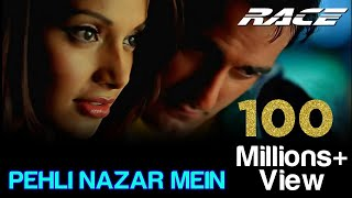 Pehli Nazar Mein - Race I Akshaye Khanna, Bipasha Basu, Atif Aslam(Watch Akshaye Khanna & Bipasha Bau in this track higly romantic track 'Pehli Nazar Mein' from the movie 'Race'. Credits of the songs are as follows Singer(s) ..., 2012-07-28T04:31:15.000Z)