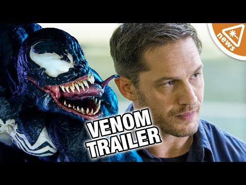 Why the Venom Teaser Has the Internet in an Uproar! (Nerdist News w/ Jessica Chobot)
