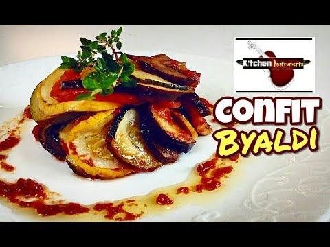 Thomas Keller Style Confit Byaldi (Ratatouille Recipe) | Kitchen Instruments