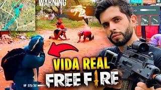 ATÉ A LOUD?!? REAGINDO AO NOVO FREE FIRE NA VIDA REAL!!!