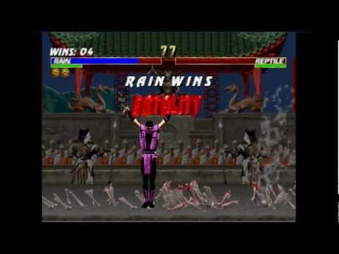 Mortal Kombat Trilogy Прохождение за Raina (PS One)