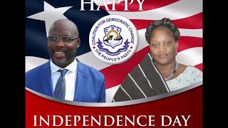 Sen  Amb  George Weah's 2017  Independence day Message