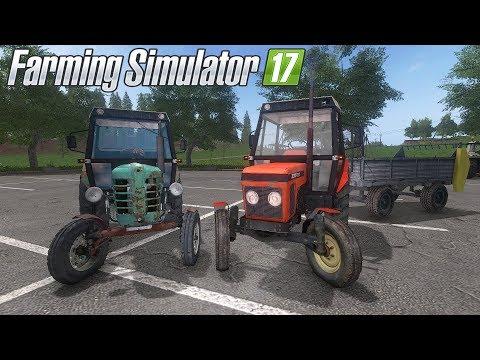 🚜John Deere 7010 / Zetor 4011 / Zetor 7211 / Farming Simulator 17 Mody