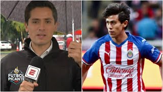 JJ Macías ESTARÍA LISTO para jugar ante Tigres. Oribe volvería a la banca en Chivas | Futbol Picante