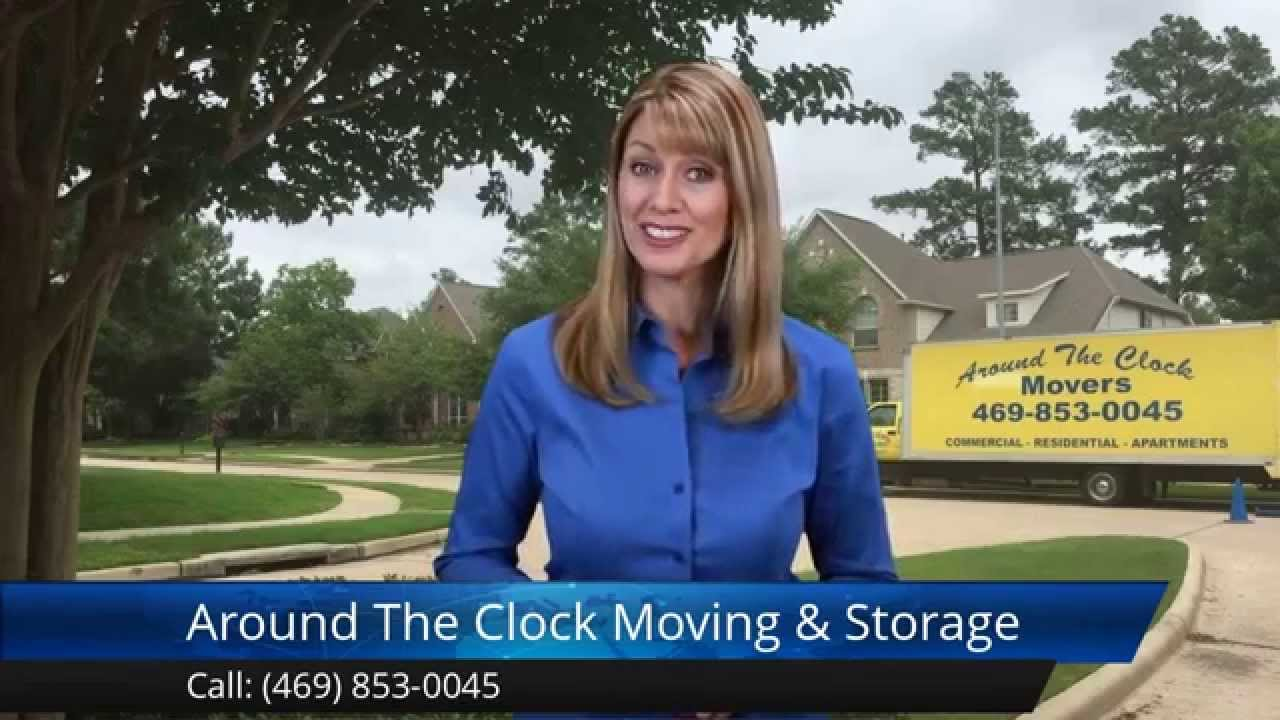 Around The Clock Moving U0026 Storage Dallas Remarkable Five Star Review By Zoe  R