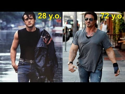 Sylvester Stallone transformation  Old age is not for me!