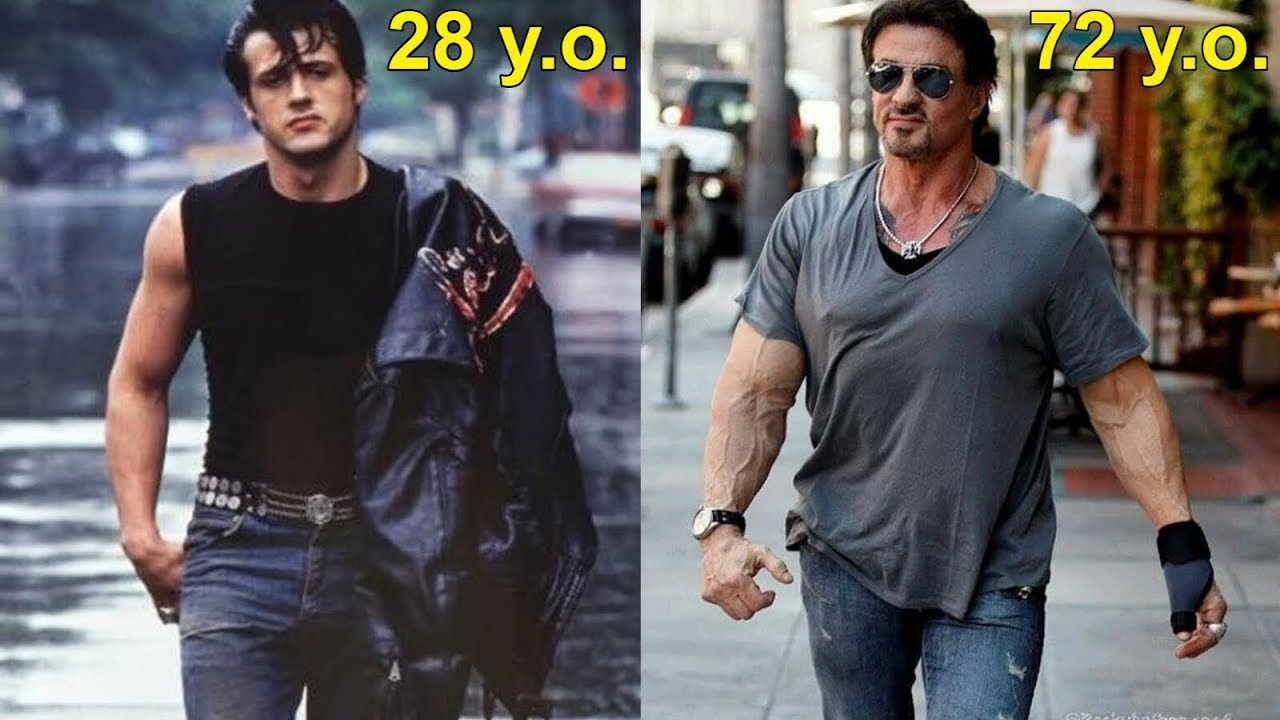 Sylvester Stallone Transformation Old Age Is Not For Me