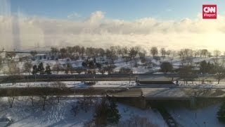 Repeat youtube video Time lapse of polar vortex effect over Lake Michigan