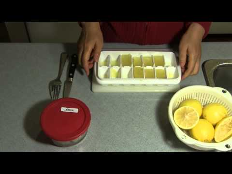 How To Keep Lemon Juice Fresh
