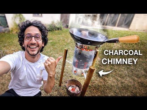 How to make a Wok Burner from Chimney Starter (hack)