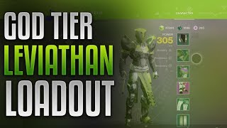 Destiny 2 - Best Leviathan Raid Loadout! [GOD TIER]