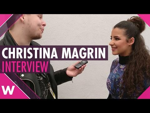 Christina Magrin (Malta Junior Eurovision 2016) - INTERVIEW