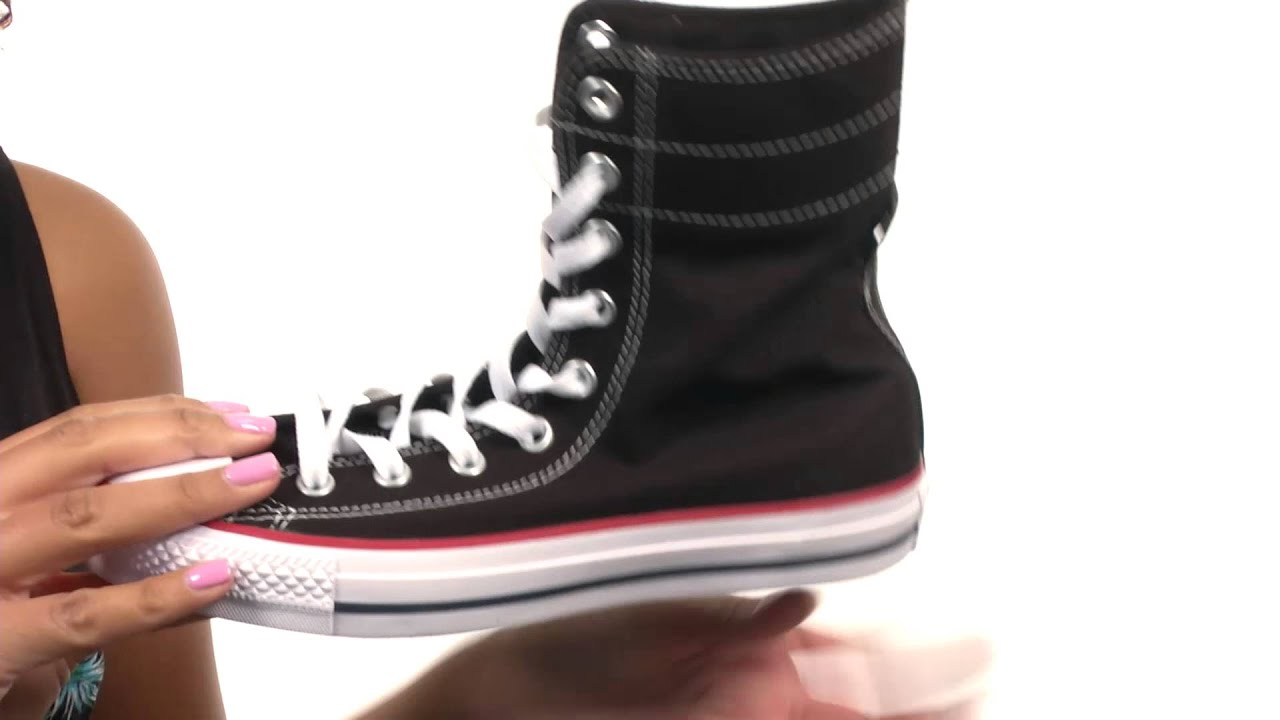 466d9fe2343d Converse Chuck Taylor® All Star® Hi-Rise Fundamental Canvas X-Hi SKU 8545817