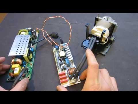 Hacking an OSRAM P-VIP Projector Lamp Driver Board - YouTube