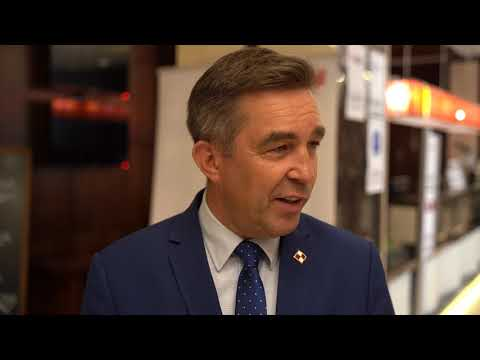BEIF 2019 - Zbigniew Gryglas - Przewodniczący Parlamentarnego Zespołu Ds. MEW