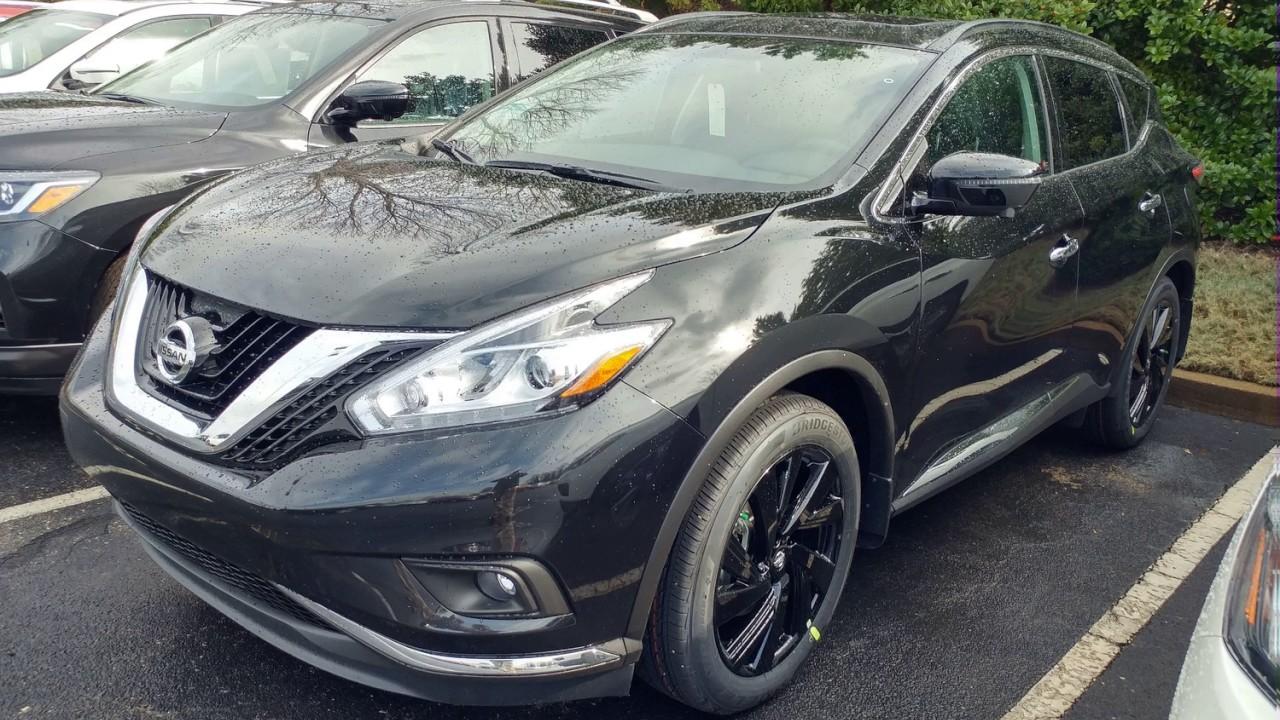 Black Nissan Murano D Sport Utility  You