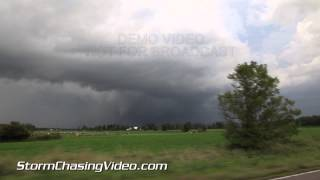 8/24/2014 Benton County, MN POV Tornado B-Roll